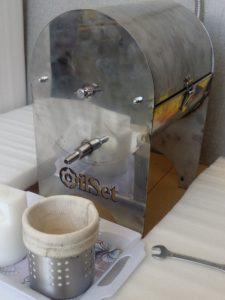 دستگاه روغن گیری فیلتر تصفیه روغن