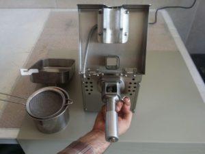 دستگاه روغن گیری کوچک تمام استیل