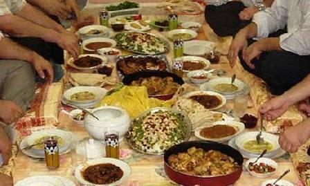 افطاری ماه رمضان با روغن کنجد